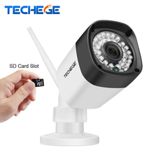 Techege 720P 960P WIFI IP Camera HD 1.0MP 1.3MP wifi Camera Night Vision Outdoor TF Card Slot CCTV Camera Motion Detection