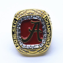 Factory direct sale Good Quality 2016 Alabama Crimson Tide SEC Football Championship Ring(China)