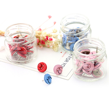 TUTU 20pcs/lot New Office Thumbtacks Push Pins Colored Map Photos Pin Board Cork Office&School Supplies Free Shipping H0097