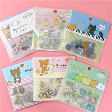 80Pcs/1Bag Easily Bear Sticker Package Diy Stickers Children Stationery Stickers(China)
