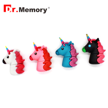Dr.Memory Unicorn USB Flash Drive Trojan horse 8GB pendrive cartoon 16gb pen drive 32gb usb stick 64gb minion u disk usb flash