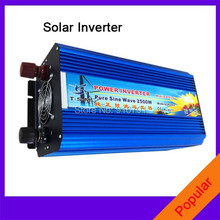 DHL Or Fedex 2500W Pure Sine Wave Inverter 5000w peak For Wind and solar energy High Quality(China)