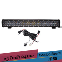 23 Inch 240w Led Light Bar Combo Work Driving Light Car Truck Off road 4x4 4wd Suv Bar for Ford F650 Toyota FJ Cruiser Tacoma