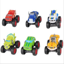 Blaze Monster Machines Russia blaze miracle cars Kid Toys Vehicle Car Transformation Toys random send with retail bag kids toys