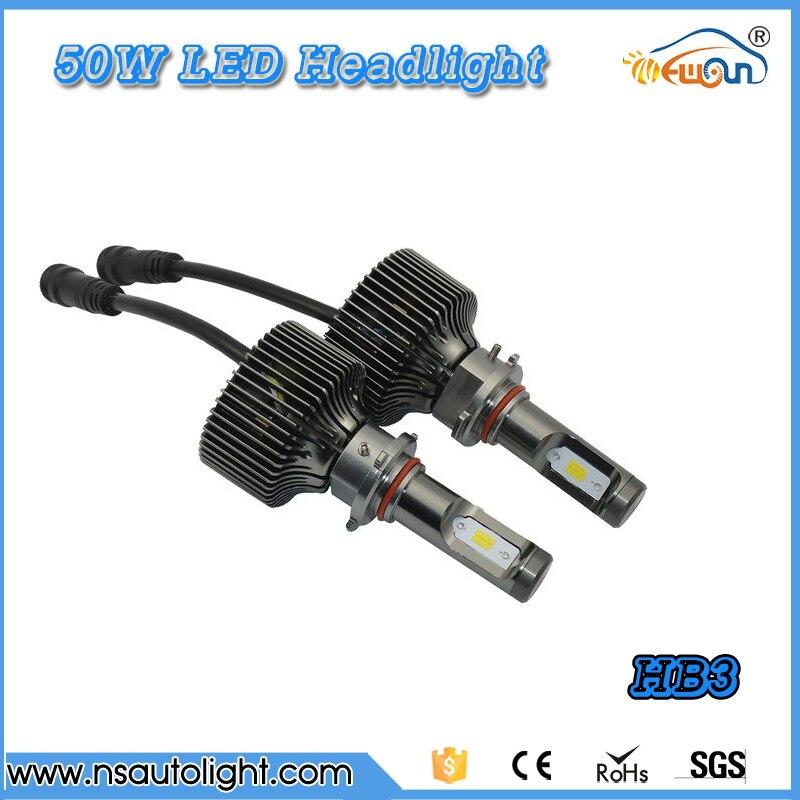 P7 plus  Super white 6000k  50w *2 100W 10000LM 9005 HB3 led headlight Kit 9005 HB3 LED headlights 10000LM LED Car headlight <br><br>Aliexpress