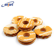 Enjort 25pcs/lot Outdoor Fishing line Circular Winding plate foam Board Fishing Lure Trace Wire Leader Swivel Tackle(China)