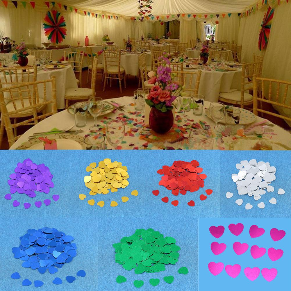 DIY Wedding Throw Bride Throwing Flowers heart Petals Confetti Dining Table Decoration Articles Wedding Supplies W5(China (Mainland))