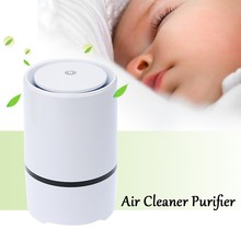 Alanchi Air Purifier DC5V USB Mini Air Cleaner Purifier Negative Ion Ionizer Fresh Air Home Use