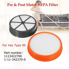 KROAK Pre & Post Motor HEPA Filter Set Replacement Kit For Vax Type 90 Vacuum Cleaner(China)