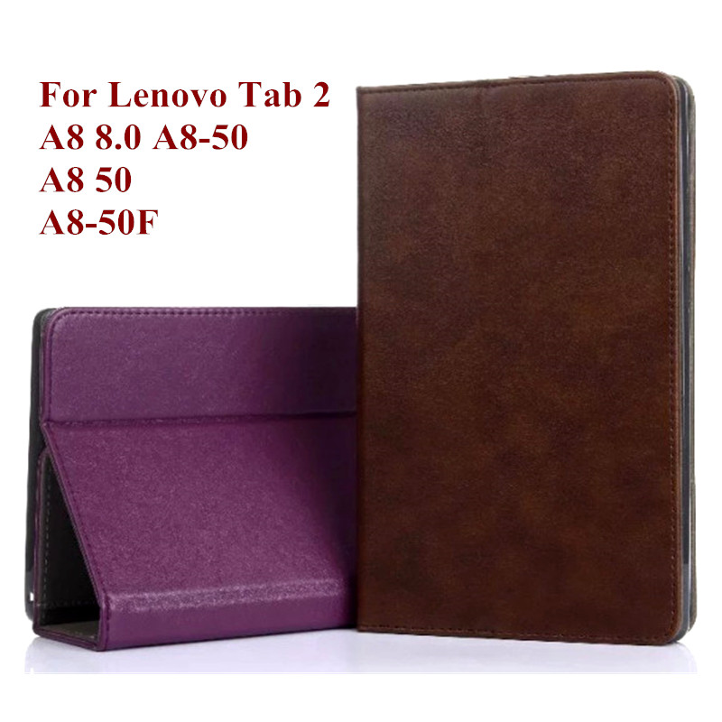 Luxury PU Leather Case Flip Stand Cover for Lenovo Tab 2 A8 8.0 A8-50 A8-50F A8-50LC Tablet Cover 8 Inch with Wallet Card Holder<br><br>Aliexpress