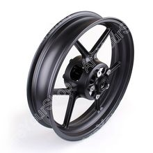 Areyourshop Front Wheel Rim for Kawasaki ZX6R 2009-2010 ZX10R 2006-2010 Black US Shipping Motor Wheel Motorcycle Accessories(China)