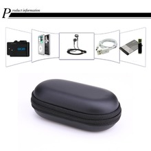 Travel Case Elliptical EVA Storage Cases Portable EVA Headphone Case for Cellphone USB Chargers Cables Headphone Cable Mp3 Mp4