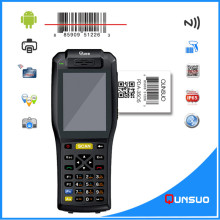 Handheld data collection mobile computer terminal inbuilt 1d barcode scanner android pda