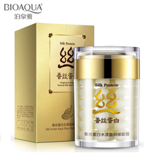 BIOAQUA face cream collagen protein moisturizer face cream anti acne anti wrinkle age silk skin care ageless products whitening(China)
