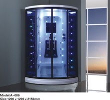 Steam shower room with colorful led lights 0262-A086(China)