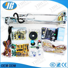 Simple kit Toy Crane Machinea DIY kit For motherboard power supply crane claw joystick buttons coin acceptor speaker