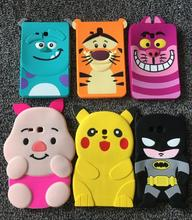 AIPUWEI Coque For Samsung Galaxy Tab 3 7.0 Lite T110 T113 T111 Soft Silicone Tablet Case 3D Cartoon Cute Sulley Back Covers+film