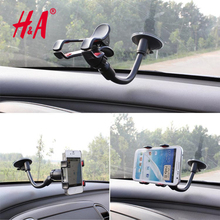 I6 Suck Holder Sticky Car Holder For Iphone 6 5s 4 Glass Stand Support Rotatable Bracket For Samsung GPS Mobile Phone Car Holder
