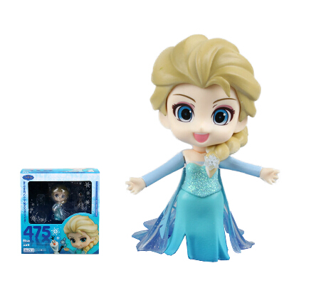 Princess Elsa Nendoroid Movie Comic Game Anime PVC Figure Ice Fairy Tale collection kids toys gifts model 10cm 475 gsc<br><br>Aliexpress
