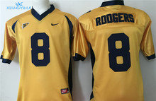 Nike California Golden Bears RODGERS #8 LYNCH #10 Boxing Jerseys(China)