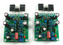 SENGTERBELLE L7 Class AB MOSFET High Speed MINI FET Amplifier Assembly Board 2 Channels Hi-Fi Stereo Audio Power Amplifier