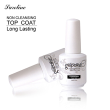 Saroline 15ML Top Base Coat Nail Gel for DIY Beautiful Nail Art UV Gel Nail Polish Soak Off Vernis Semi Permanent