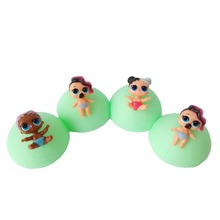 4pcs/lot 7.5cm lol Doll LIL Sisters Ball Toy Figures Egg Ball Unpacking Toys Boneca Doll lol Gift Toys for Girls No Function