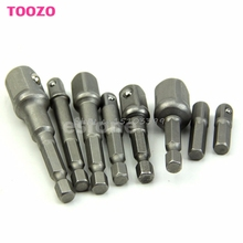 "Drop shipping 1/4"" 3/8"" 1/2""Power Drill Bit Driver Hex Socket Bar Wrench Adapter Extension -Y121 Best Quality"