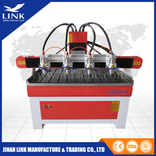 1200*2400mm cnc router 4 spindles machine/wood cnc router companies looking for agents(China)