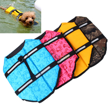 Pet Dog Life Jackets Safety Vest XS-L Size Summer Clothes Tactic Golden Big Large Dog Pet Products For Dog Swimming Jacket(Hong Kong)