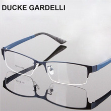 DUCKE GARDELLI New spectacle eyeglasses metal Half-rim optical frames eyewear for men women Prescription Myopia glasses oculos(China)