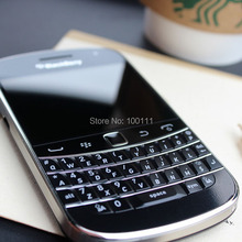 Original blackberry 9900 mobile phone + Russian language phone with 5MP camera Free shipping(Hong Kong)