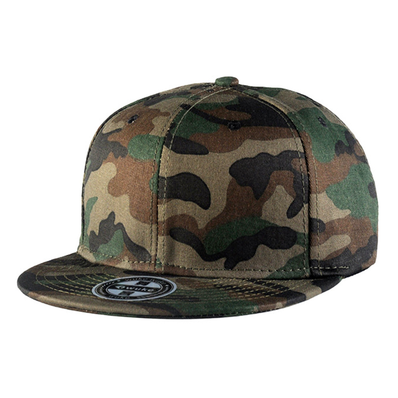 Hot new camouflage army cap street skateboarding hip hop 5 panel hats along tide bone 243<br><br>Aliexpress