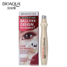 BIOAQUA Brand Skin Care Eye Massage Cream Slide Ball Essence Firming Remover Dark Circles Wrinkle Anti-puffiness Bags Under Eye(China)
