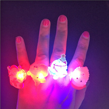 2017 Glow Boda 100pcs/lot Factory Led Finger Light,leaser Lamp,chrismas Night Light,flashing Children Toy Party For Christmas(China)