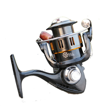 2016 New Hot Sale Good Quality Fishing Reels Spinning Fake Bait 2000/9000S 10 BB Metal is customized  Free Shipping