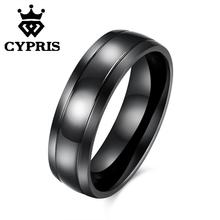 SALE TGR081-D 2017 Fashion popular ring tungsten women lady hot unique opal crystal black manly CYPRIS wholesale hot cool punk