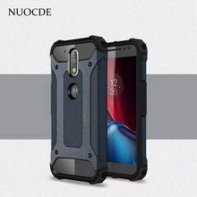 NUOCDE Hybrid Shockproof Slim Rugged Rubber Armor case for Motorola Moto G5 G4 Plus G3 E3 M Z Play Force Silicone Phone cover