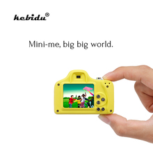 kebidu 3 Color Children Mini Kids Digital Camera 1.5 inch Cute Shoot LSR Cam 1.0MP For Baby Christmas Birthday Gift Take Picture(China)