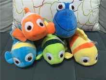 "Free Shipping EMS 200pcs/Lot Dory 9"" Finding Nemo Plush Doll Figure Toy"