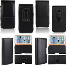 Belt Clip Pouch Bag For iPhone 6S Plus 6 SE 5S 5C 5 4S 4 3GS Holster Leather Case Cover Phone Bag Shell Protective Accessory
