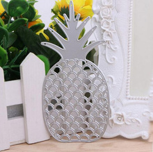 1Pcs Scrapbook Metal Pop Paper Card Embossing Stencil Cutting Dies Novelty Craft Hot Pineapple New DIY(China)