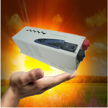 2016 LCD Display 5000w 24v to 220V off grid solar inverter pure sine wave inverter(China)