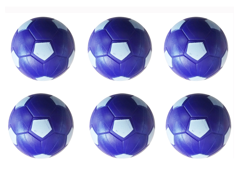 Purple soccer ball