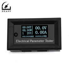 Oled LCD 100V 10A DC Combo Meter Voltage Current Power Capacity Battery Monitor Tester Electrical Parameter Tester Ammet