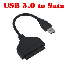 Kebidumei Kebidumei SATA USB3.0 Adapter Cable Converter For 2.5 inch HDD SSD Hard Disk Laptop SATA Adapter Cable USB 3.0 to SATA