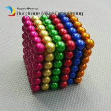 1 set 216 pcs NdFeB Magnet Balls 5mm diameter multiple rainbow color Strong Neodymium Sphere D5 ball Magnets Rare Earth Magnets