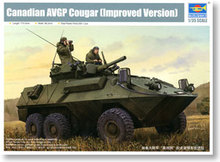 Trumpeter 1/35 scale model 01504 Canadian Army American lion 6X6 wheeled armored vehicle improved *