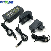AC DC Adapter 110V 220V to 12V Power Supply Transformer Charger 1A 2A 3A 4A 5A 6A 10-70W Driver for LED Lights Strip EU UK AU US(China)