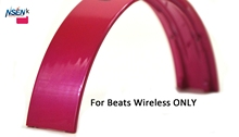 NSEN Replacement Top Headband Pad Cushions Repair Parts for Beats Wireless On-Ear Headphone (Pink)